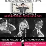 BOHÈME 50's concert/vernissage/clip